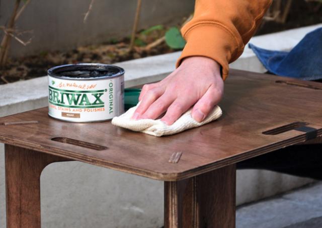 FIELDOOR 木製アウトドテーブル